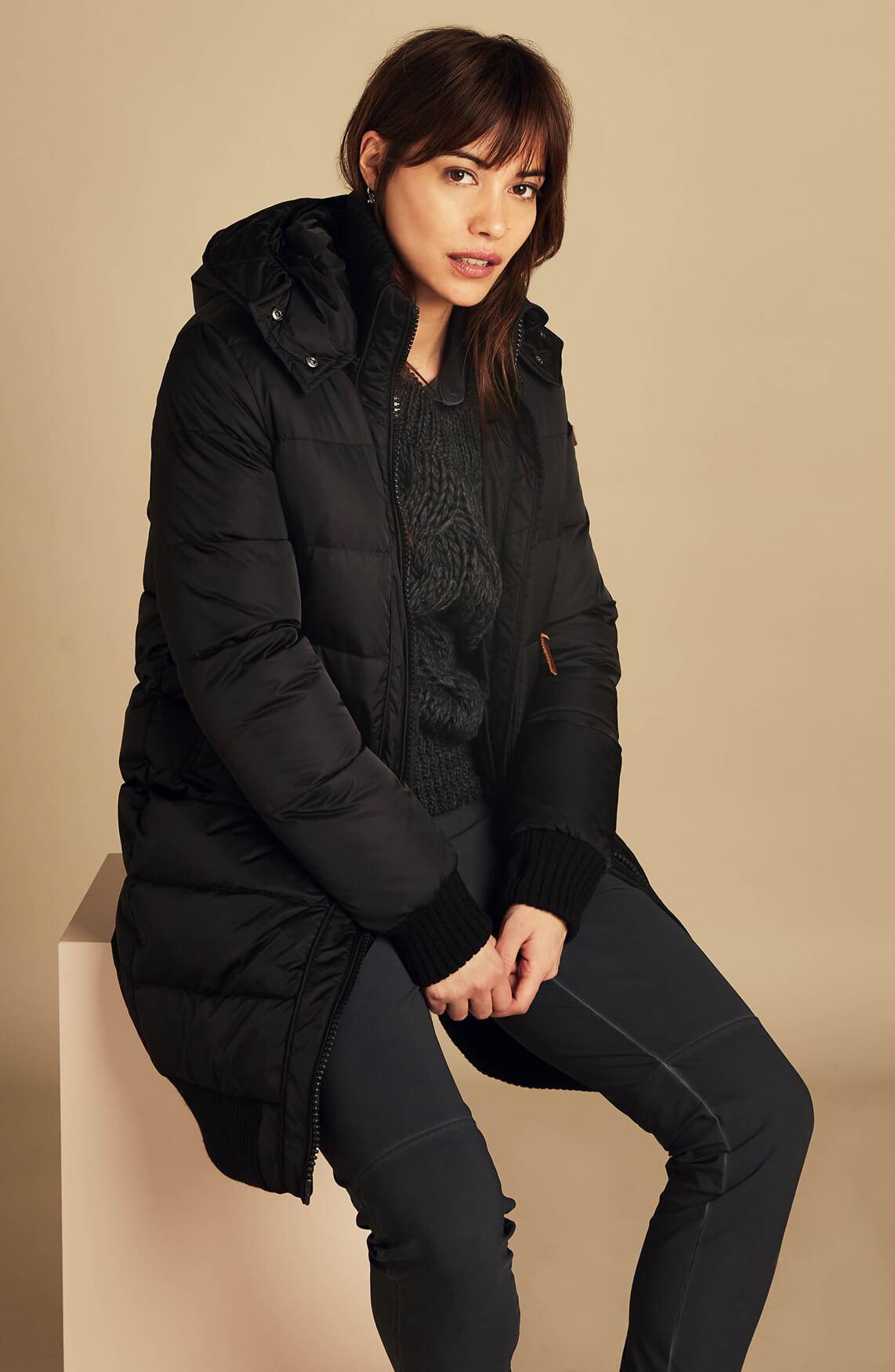 Moscow Dames Katerina down jacket zwart