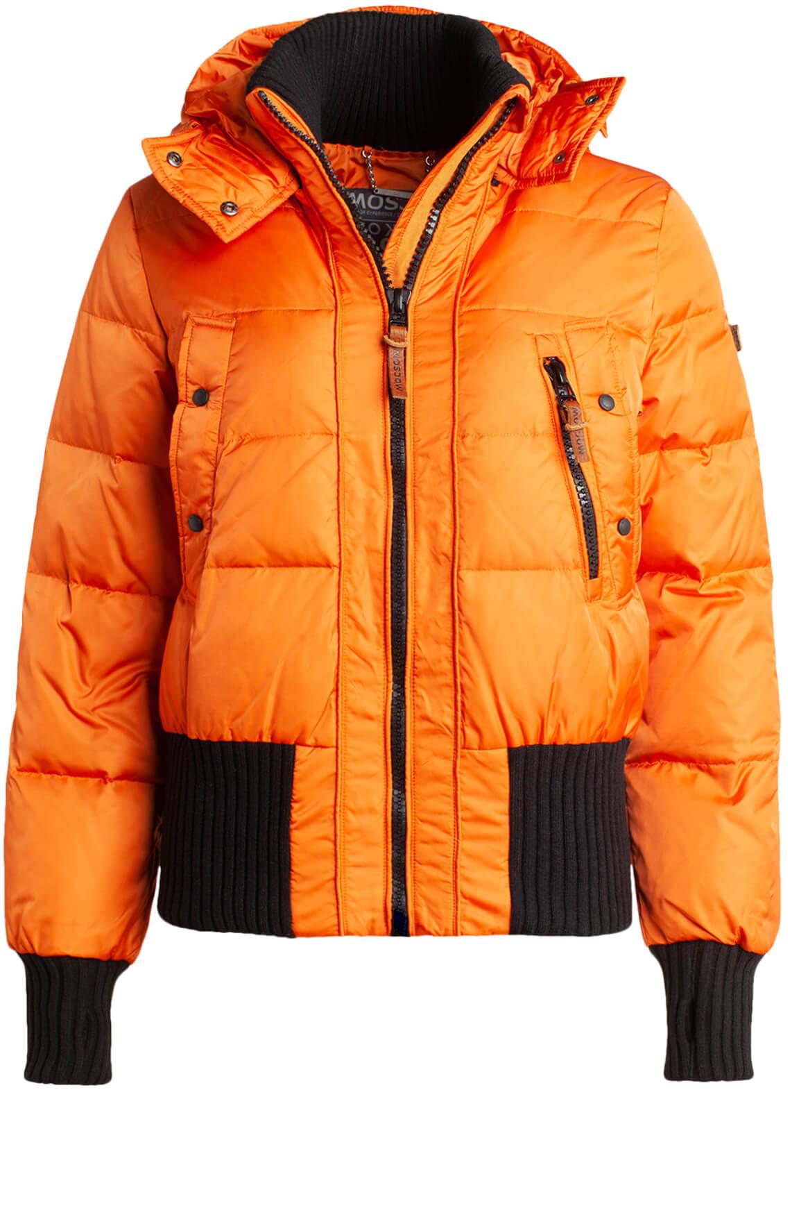 Moscow Dames Aglaya down jacket Oranje