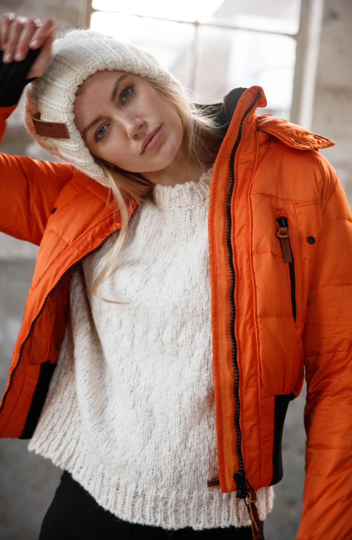 Moscow Dames Aglaya jas Oranje