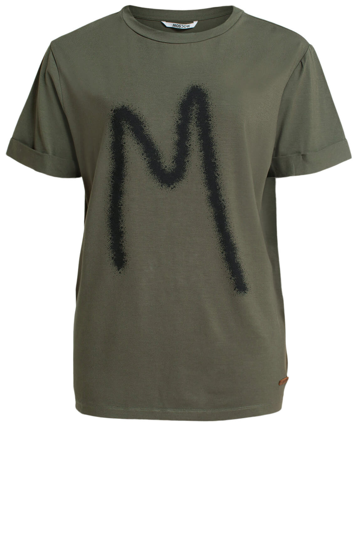 Moscow Dames Rufina logo t-shirt Groen