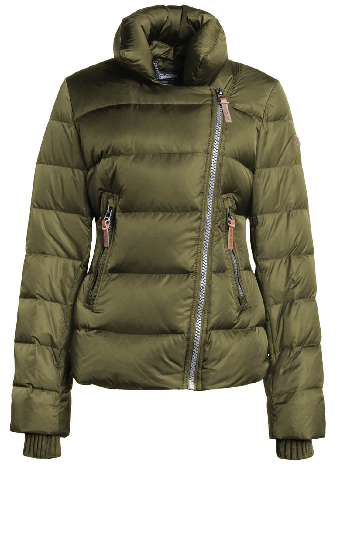 Moscow Dames Petra down jacket groen