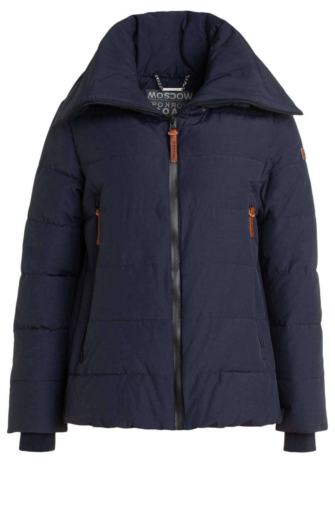Moscow Dames Agnessa jacket Blauw