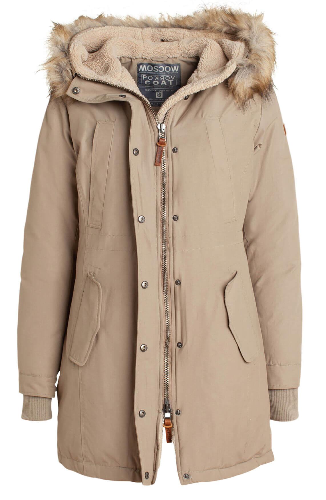 Moscow Dames Antonina jacket Bruin