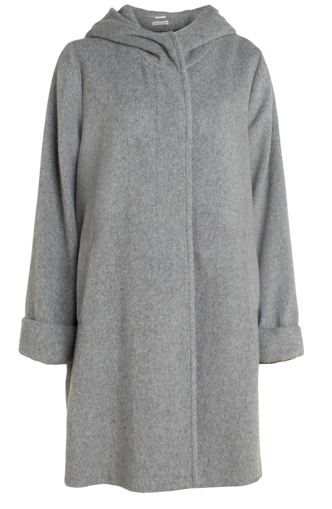 Moscow Dames Asya wool coat Grijs