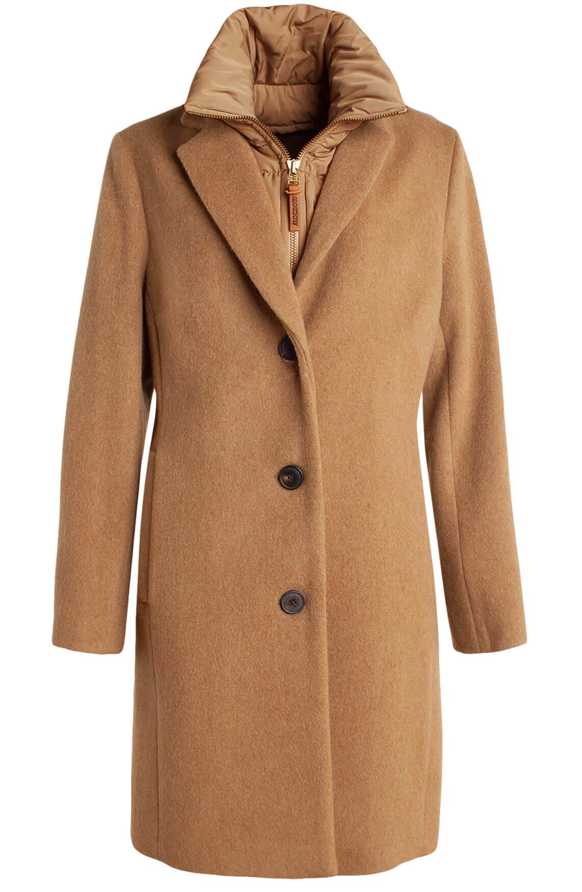 Moscow Dames Bogdana coat Bruin
