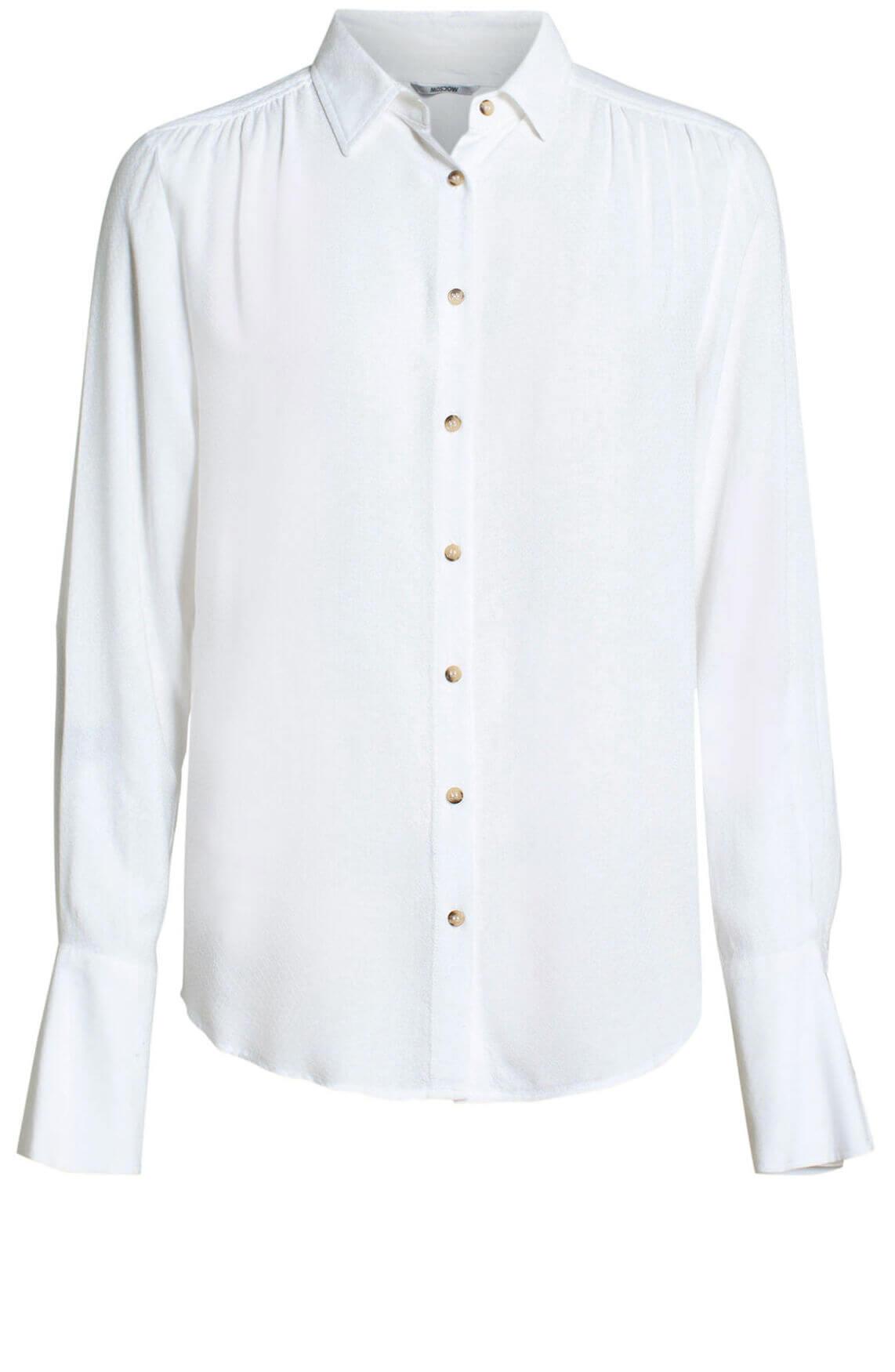 Moscow Dames Nadiya blouse wit