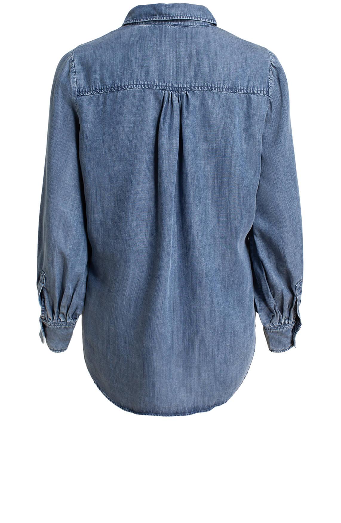 Moscow Dames Nadezda denim blouse Blauw