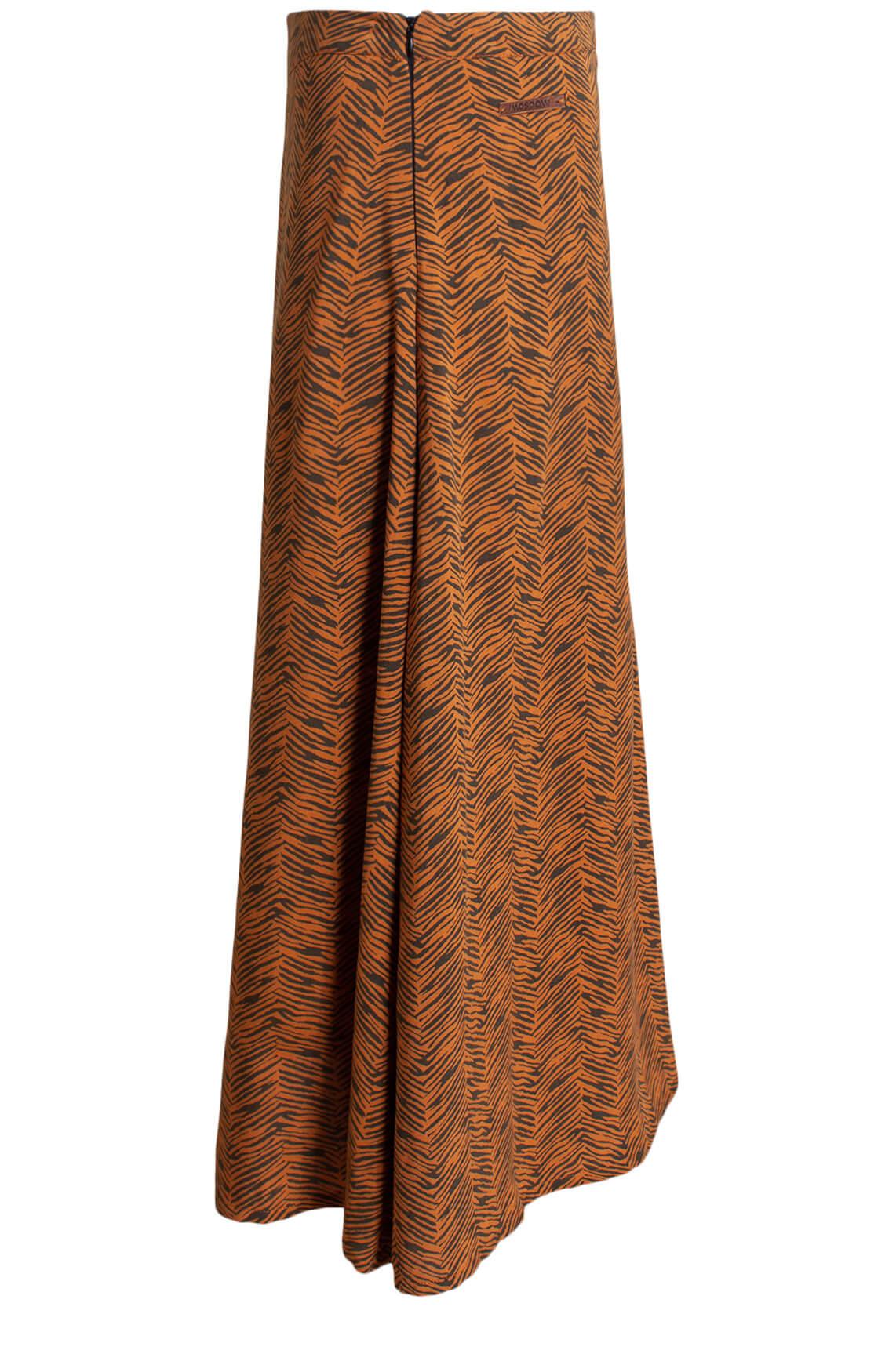 Moscow Dames Ivanya printed skirt Bruin
