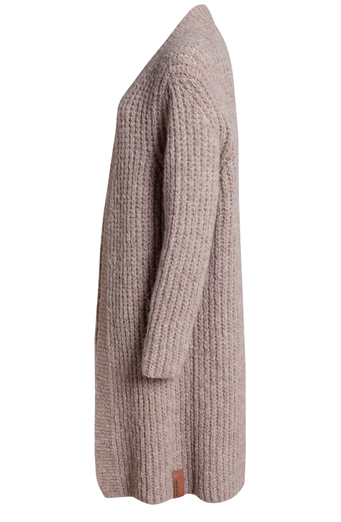 Moscow Dames Milyo knitted cardigan Bruin