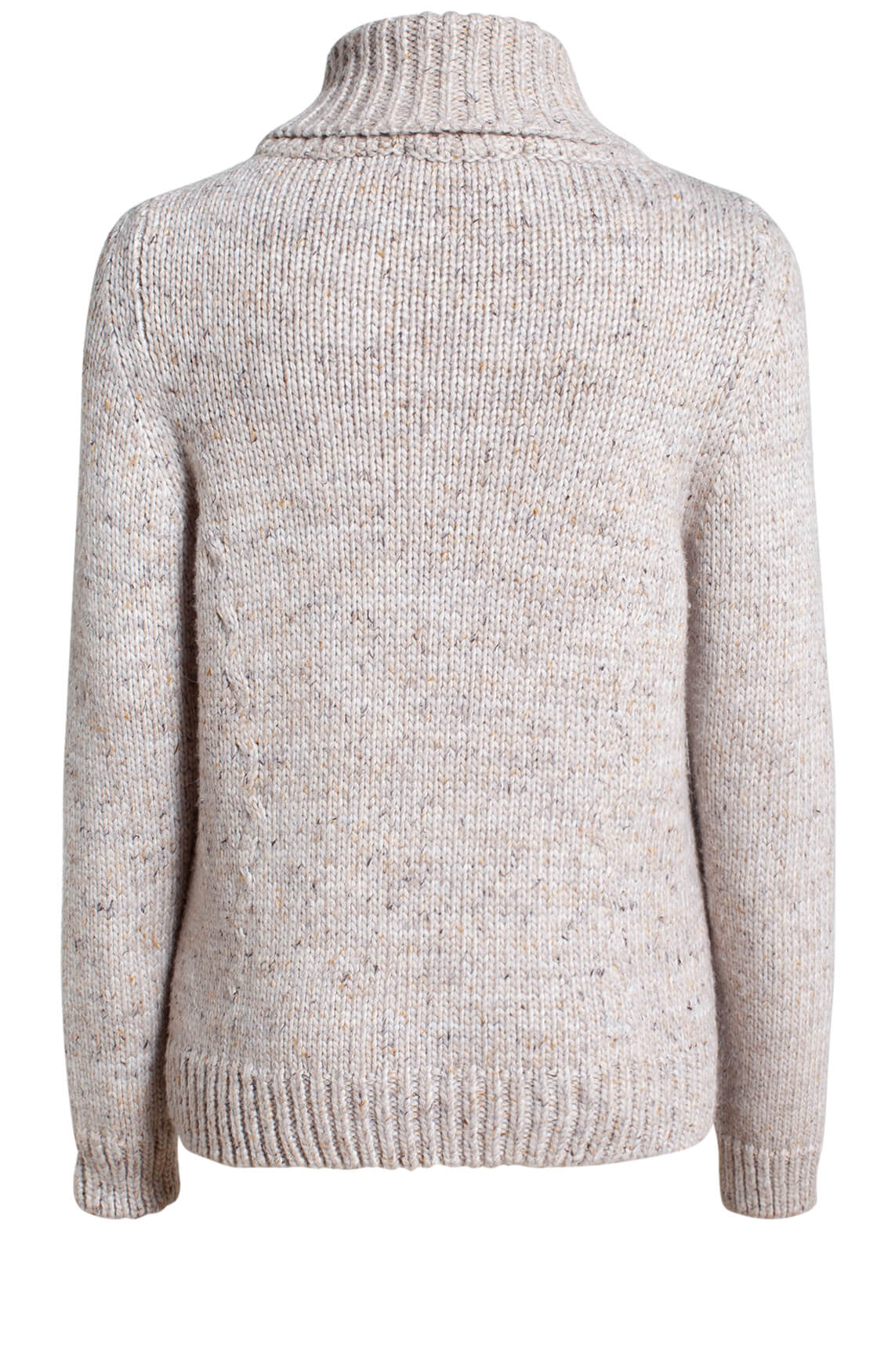 Moscow Dames Melina knitted jumper Bruin