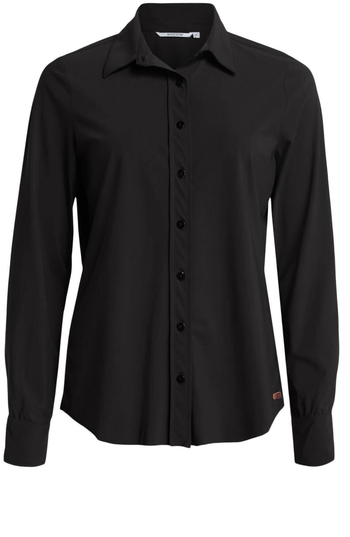 Moscow Dames Olga blouse zwart