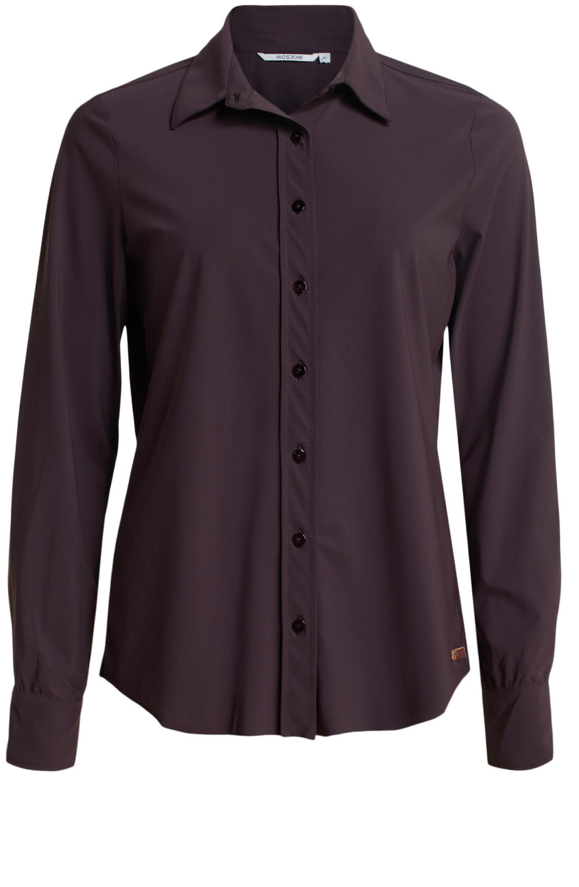 Moscow Dames Olga blouse Bruin