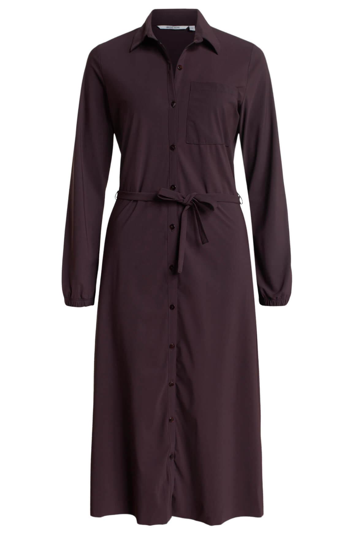 Moscow Dames Nika dress Bruin