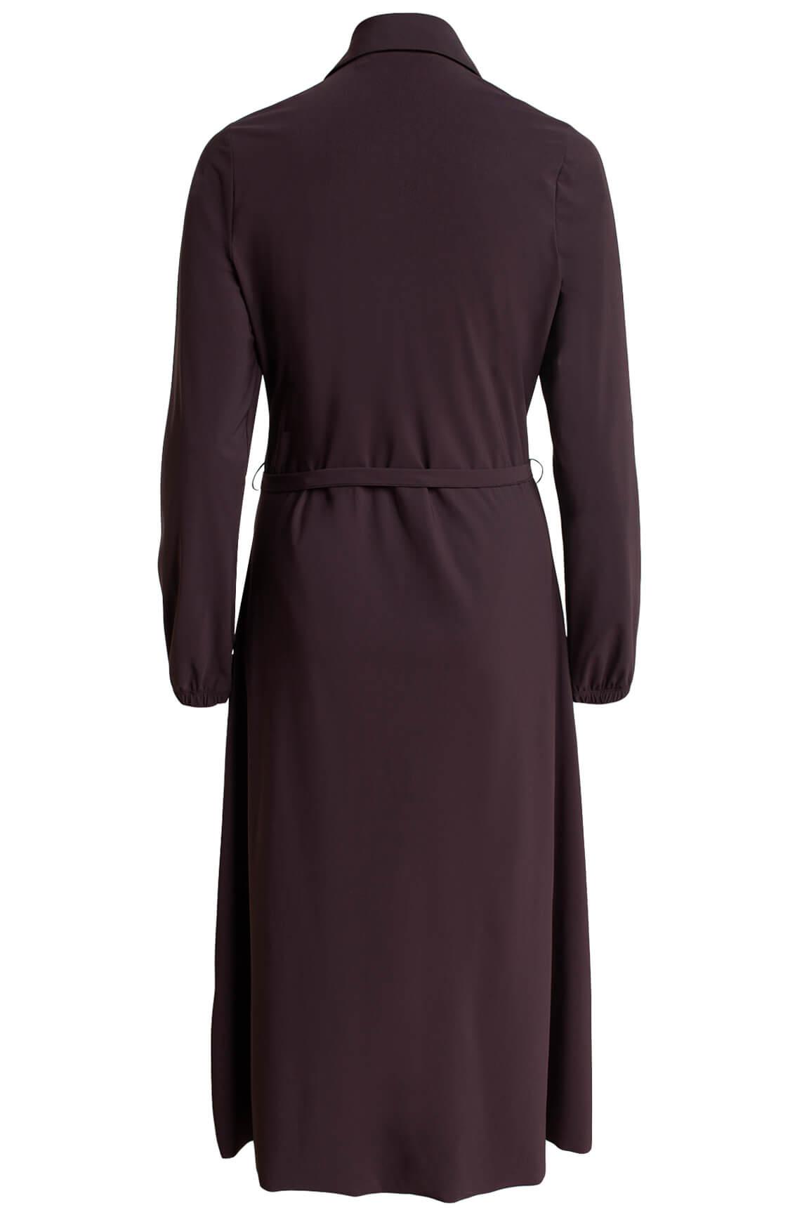 Moscow Dames Nika jurk Bruin