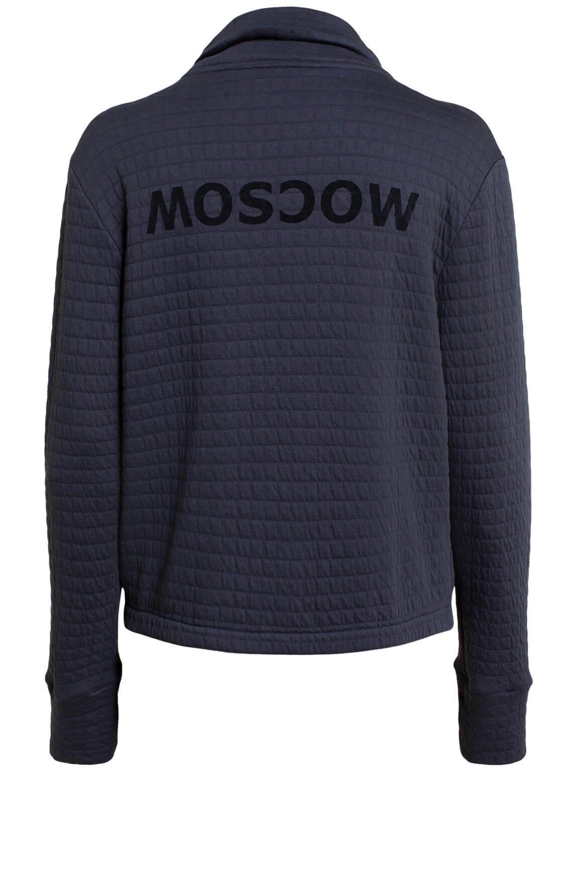 Moscow Dames Rixandra sweatvest Blauw