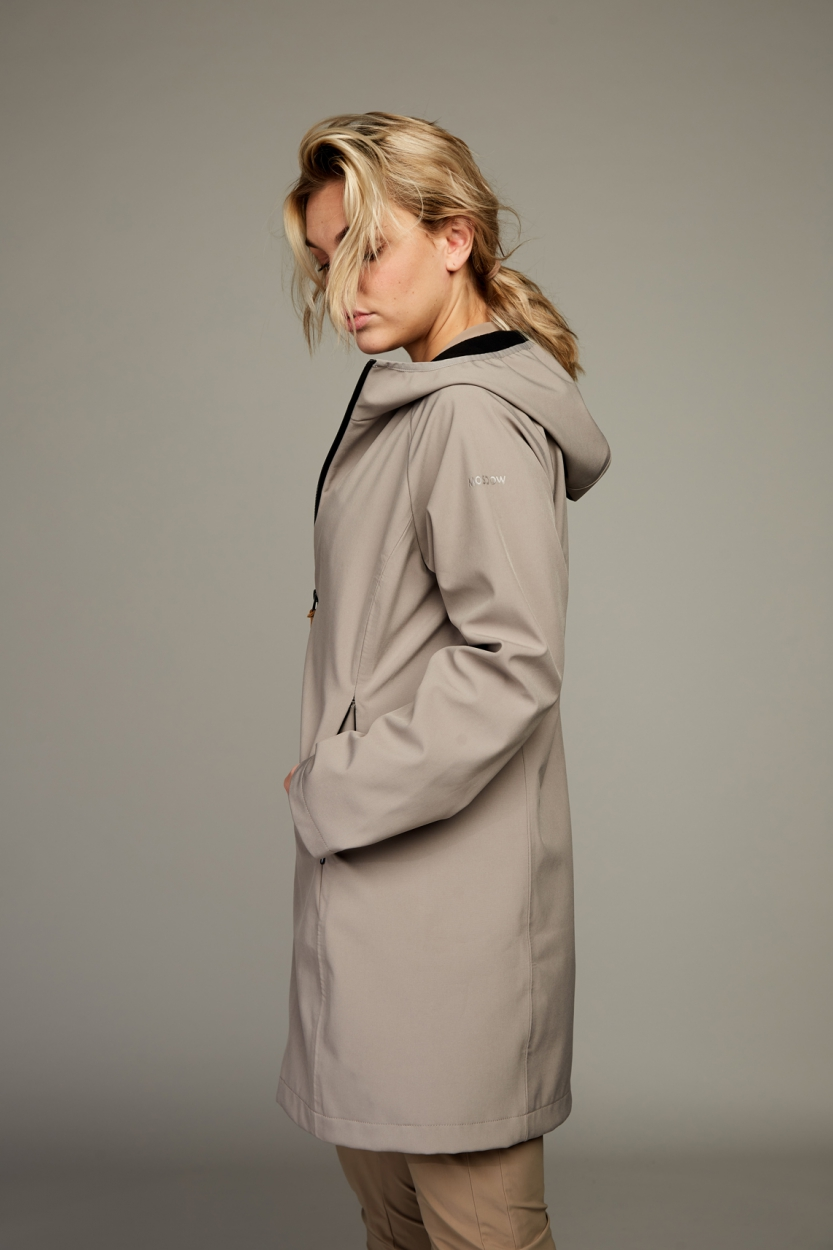 Moscow Dames Electra softshell jas Bruin