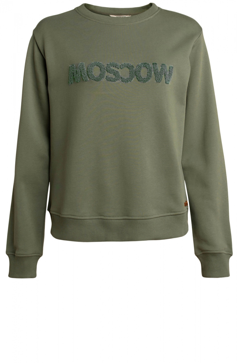 Moscow Dames Star sweater Groen