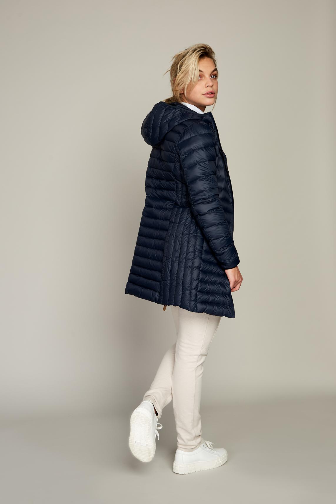 Moscow Dames Elena down jacket Blauw