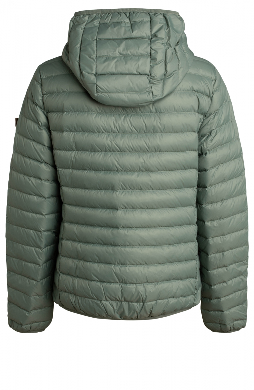 Moscow Dames Edgy down jacket Groen