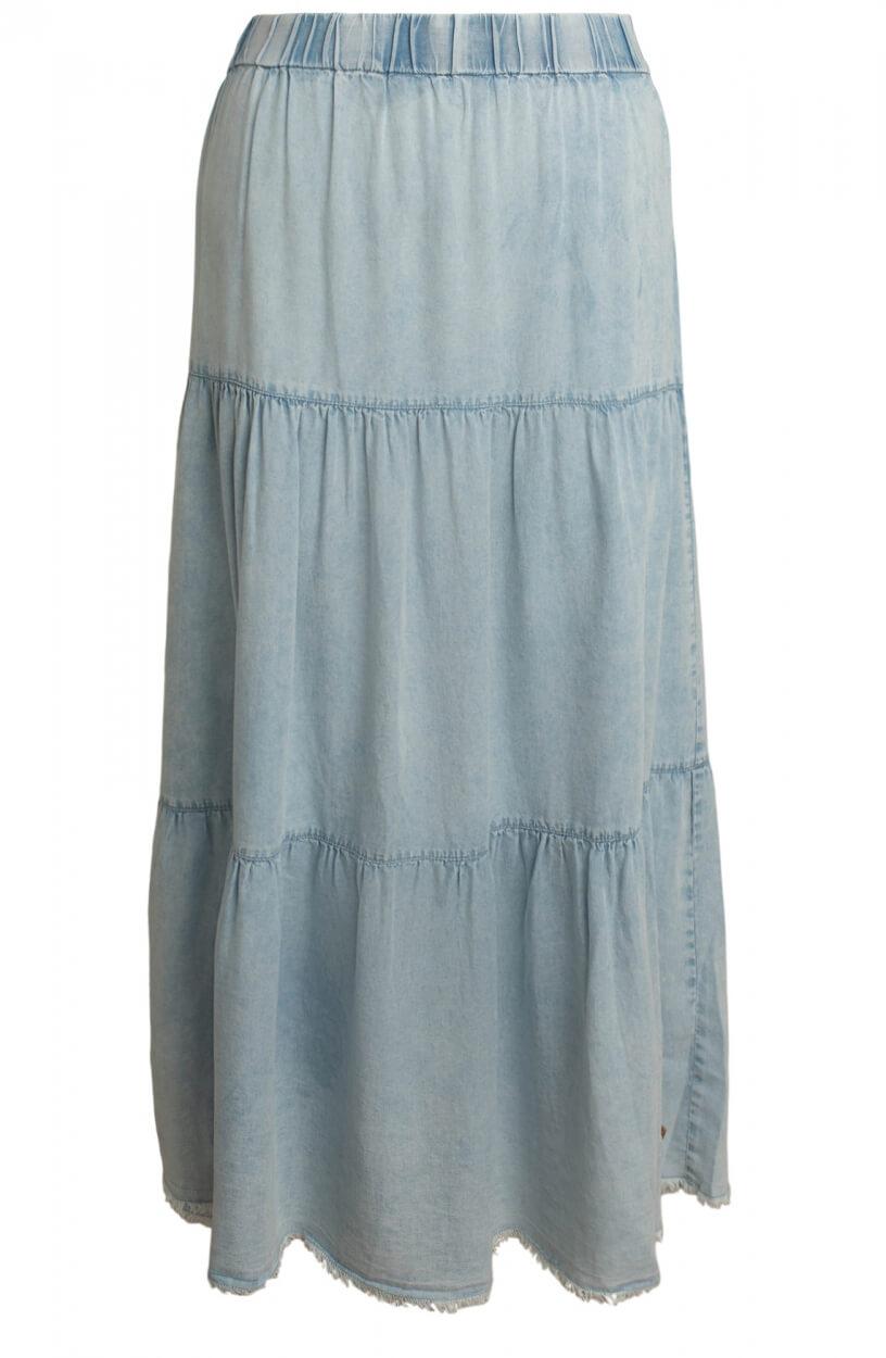 Moscow Dames Fierce denim skirt Blauw