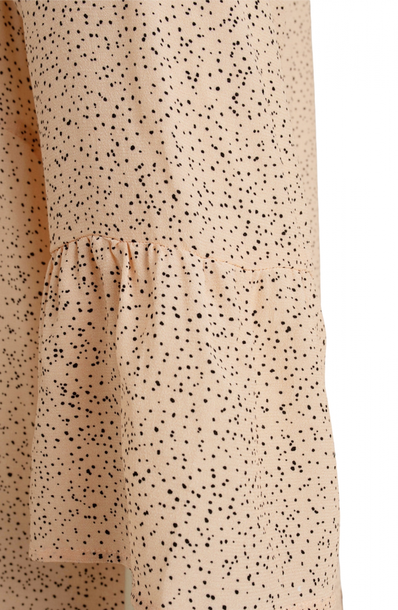 Moscow Dames Hussy dots dress Roze