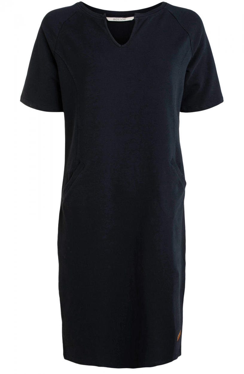Moscow Dames Wildling sweat dress Blauw