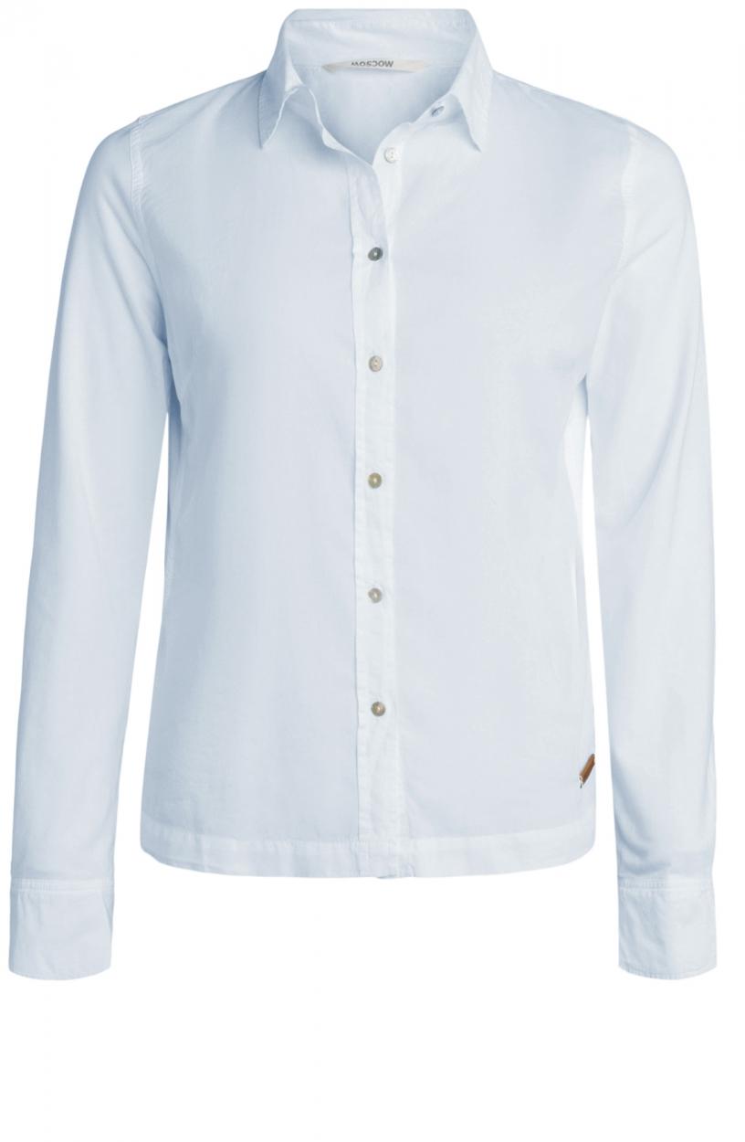 Moscow Dames Dehli blouse Blauw