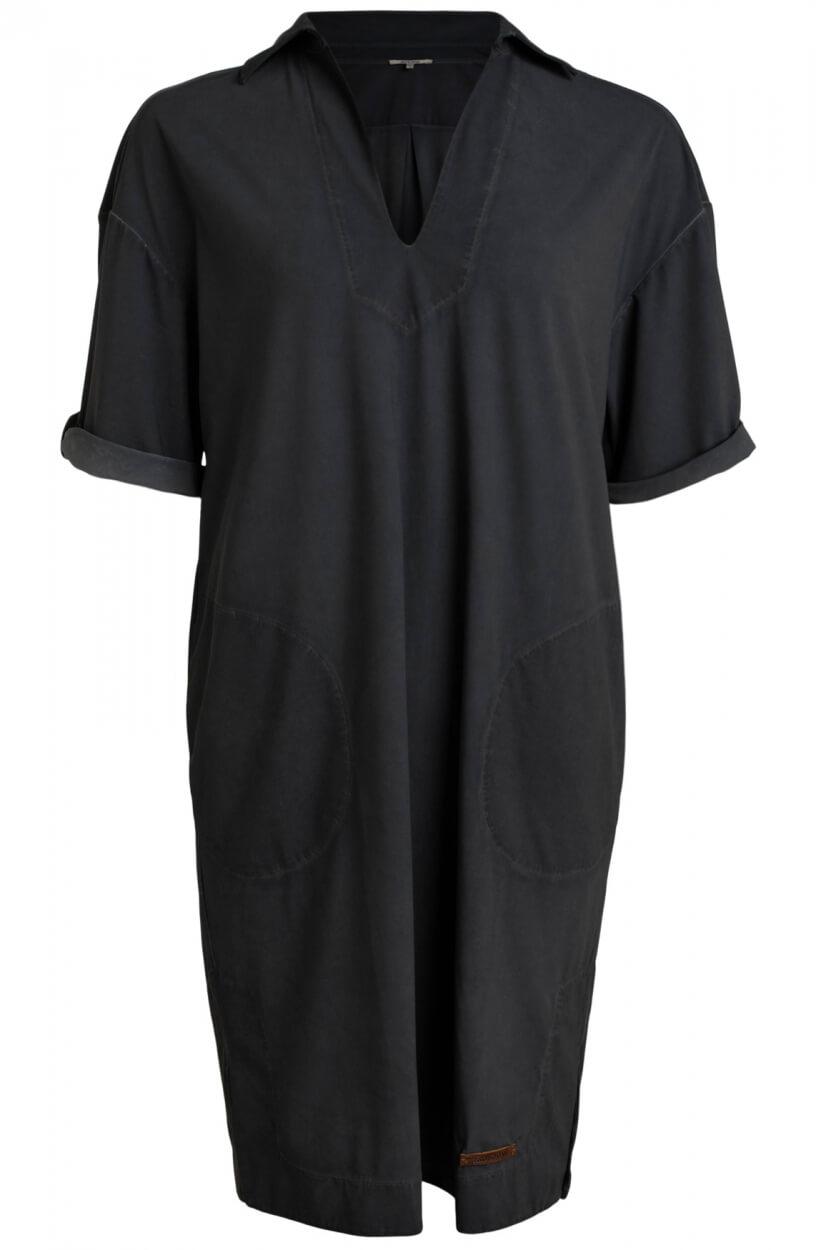 Moscow Dames Love garment dye dress Grijs