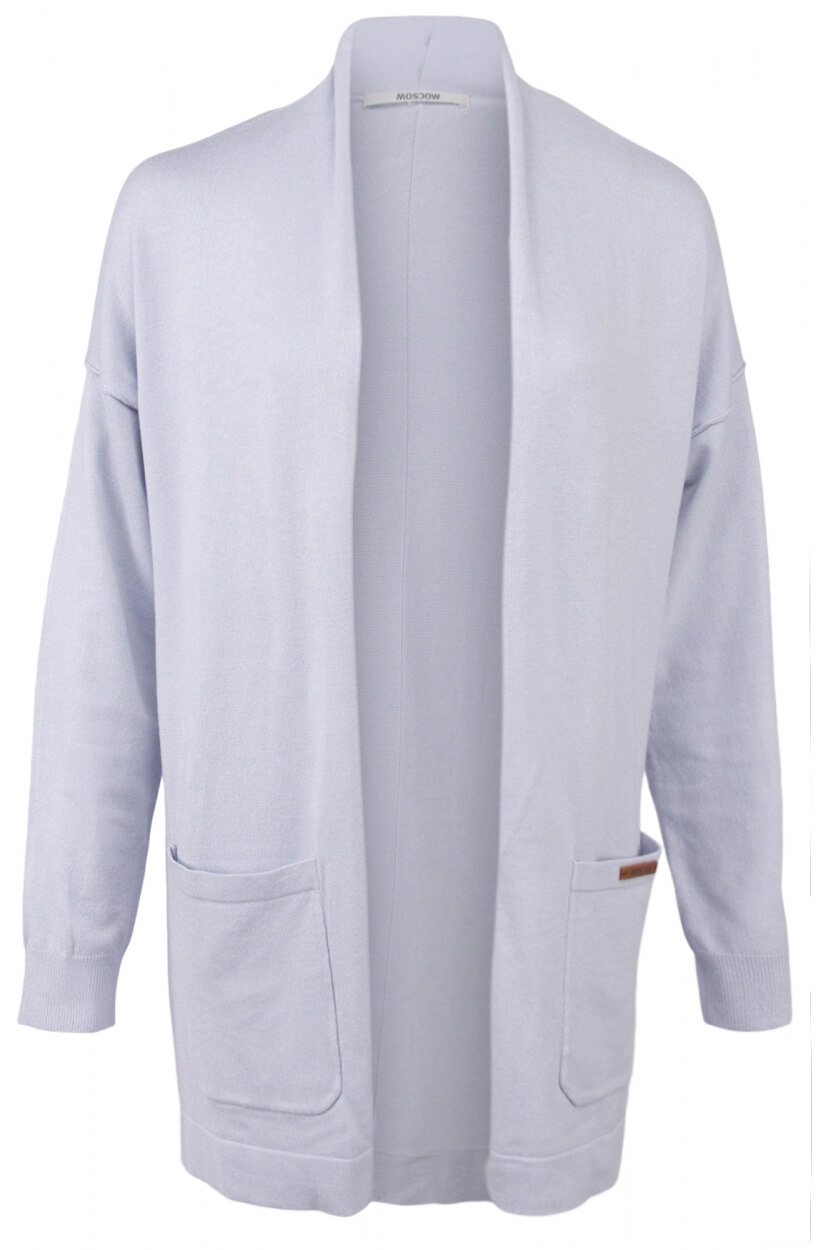 Moscow Dames Marvilous cardigan Blauw