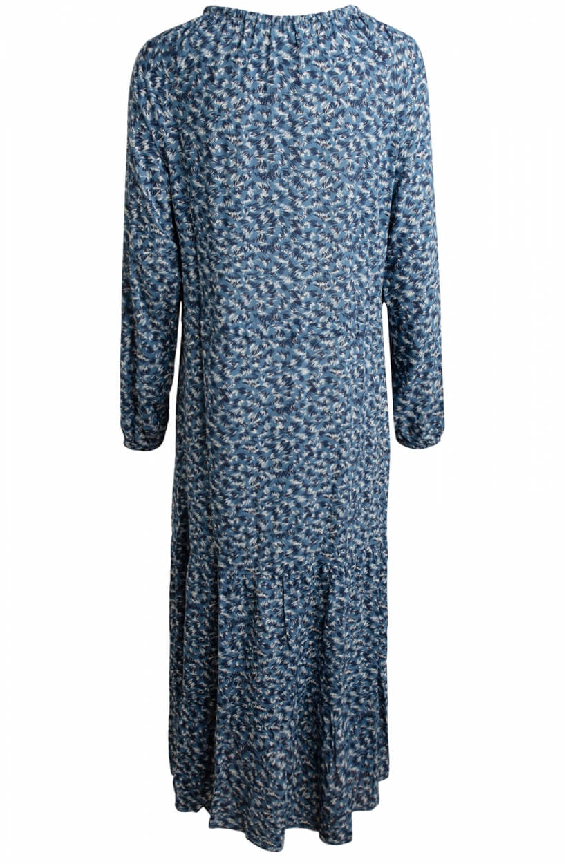 Moscow Dames Wild dress with print Blauw