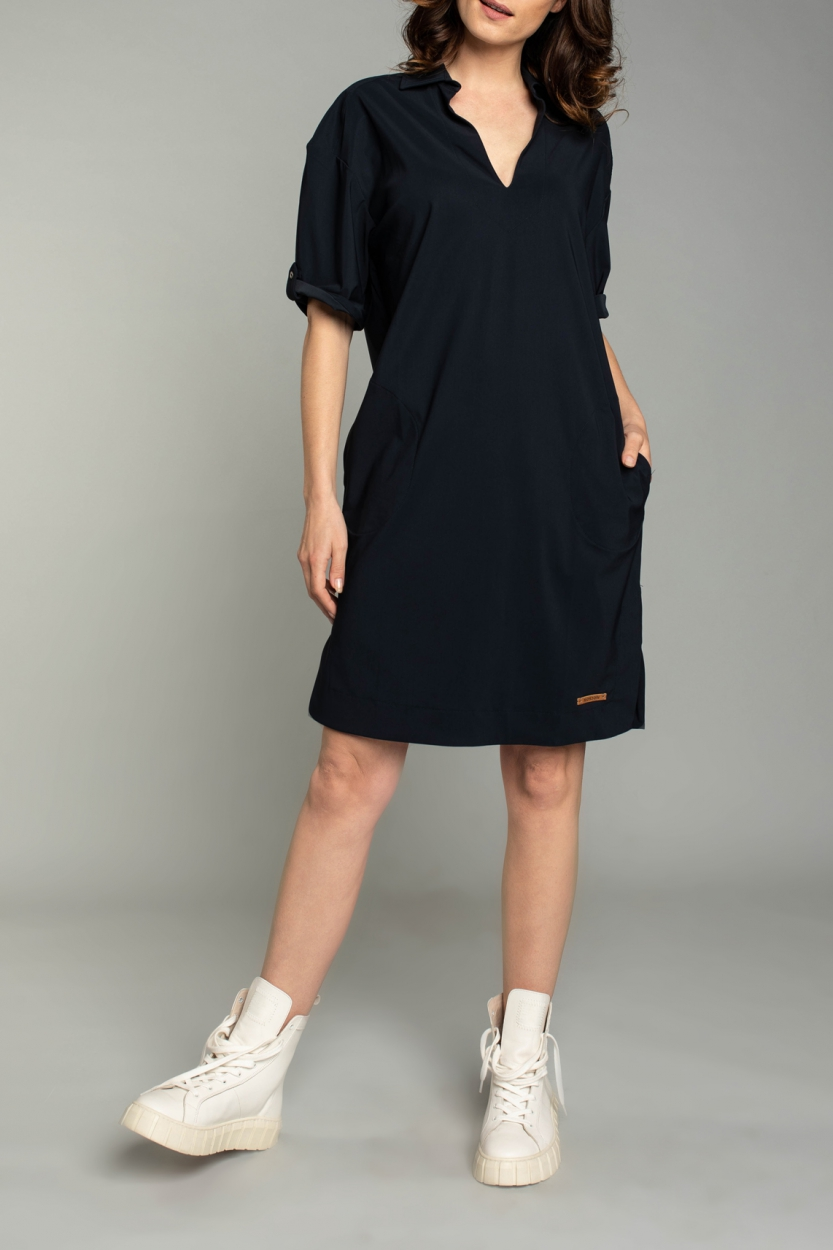 Moscow Dames Love dress Blauw