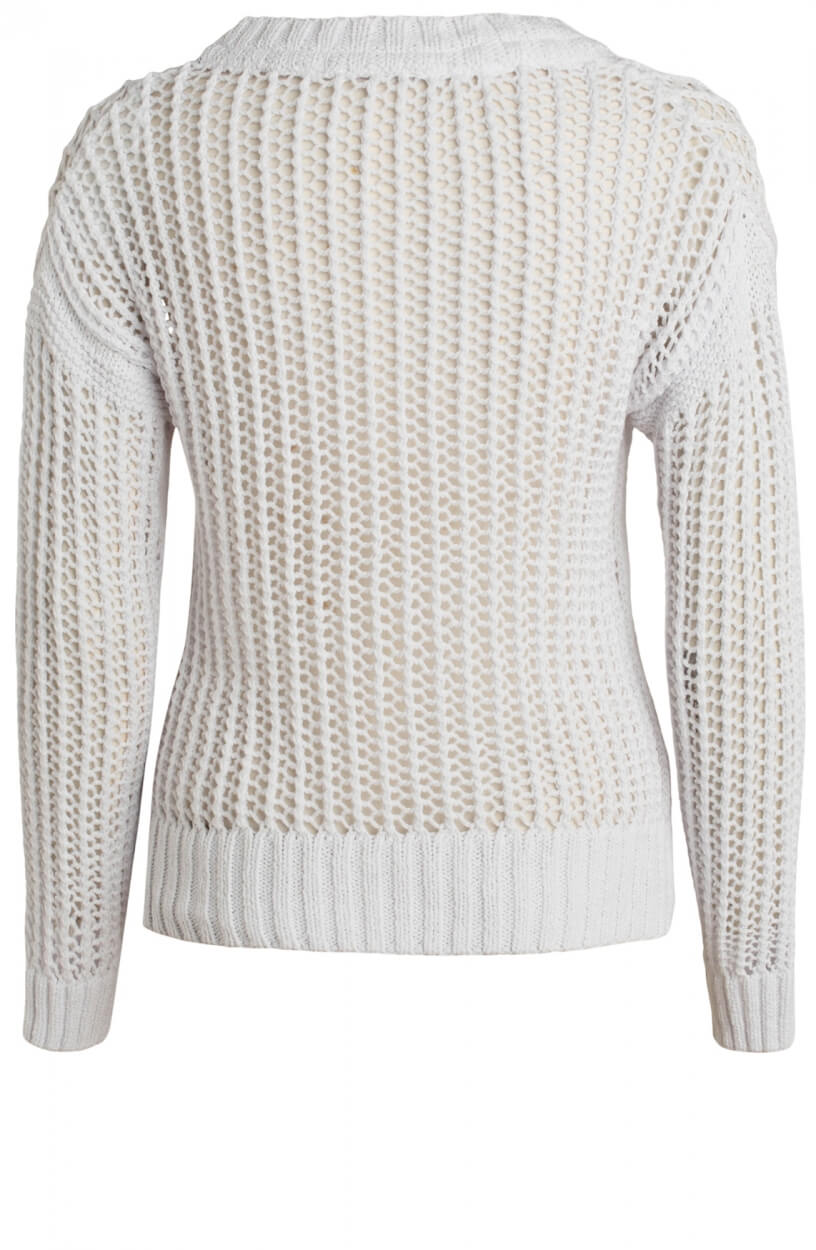 Moscow Dames Gardenia pullover Wit