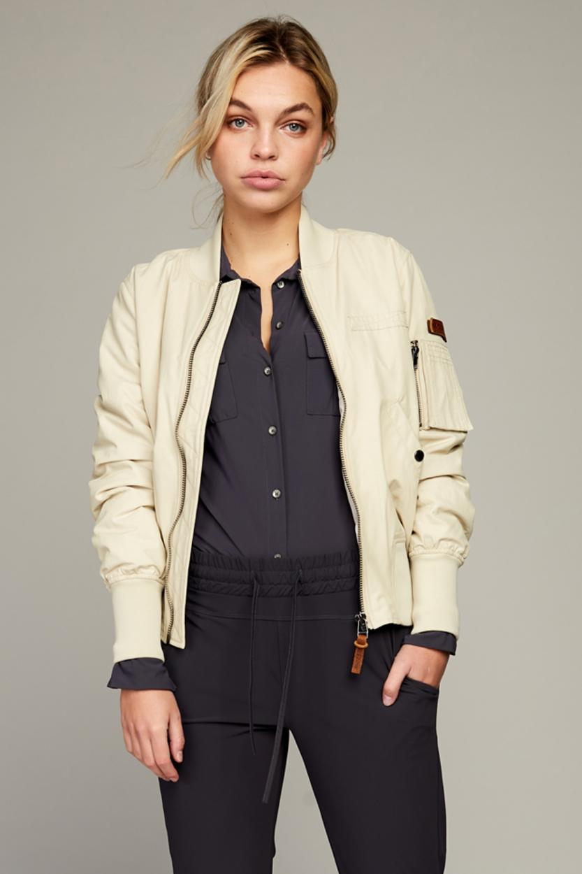 Moscow Dames Gi blouse Grijs