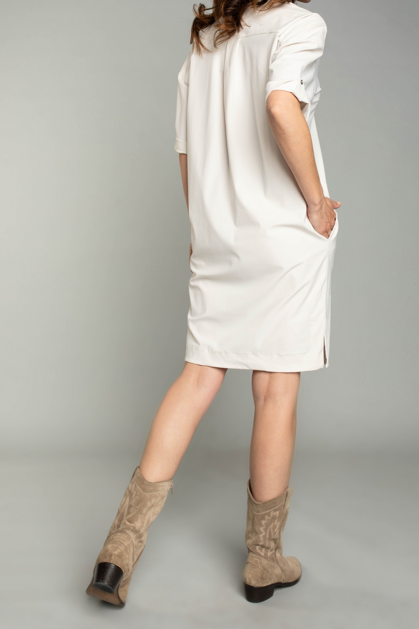 Moscow Dames Love dress Wit
