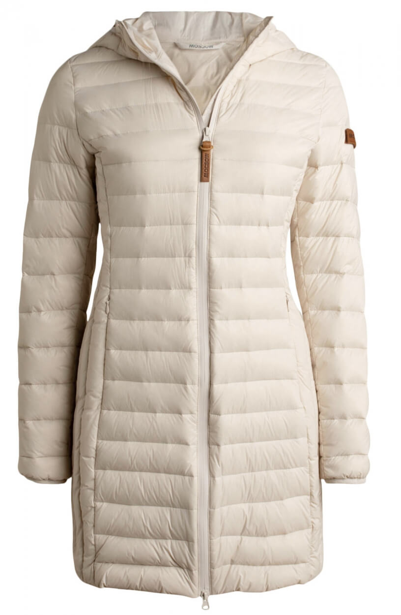 Moscow Dames Elena down jacket Wit