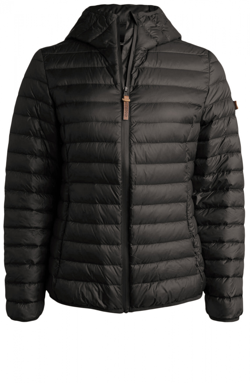 Moscow Dames Edgy down jacket Grijs