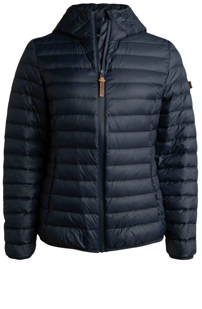 Moscow Dames Edgy down jacket Blauw