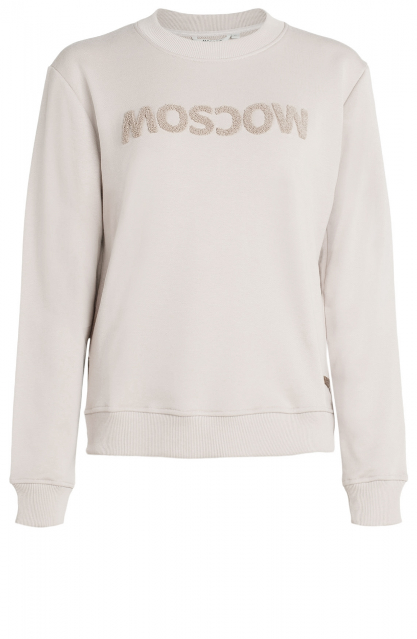 Moscow Dames Star sweater Wit