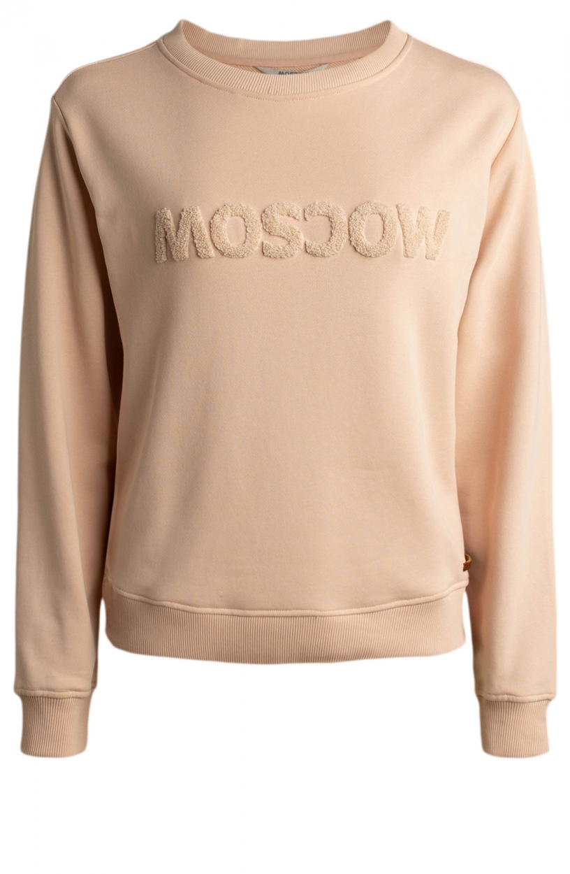 Moscow Dames Star sweater Roze