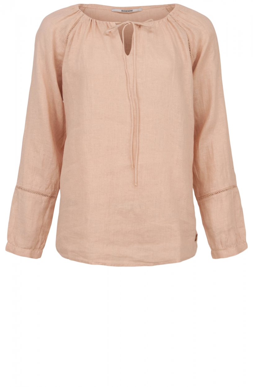 Moscow Dames Wind blouse top Roze