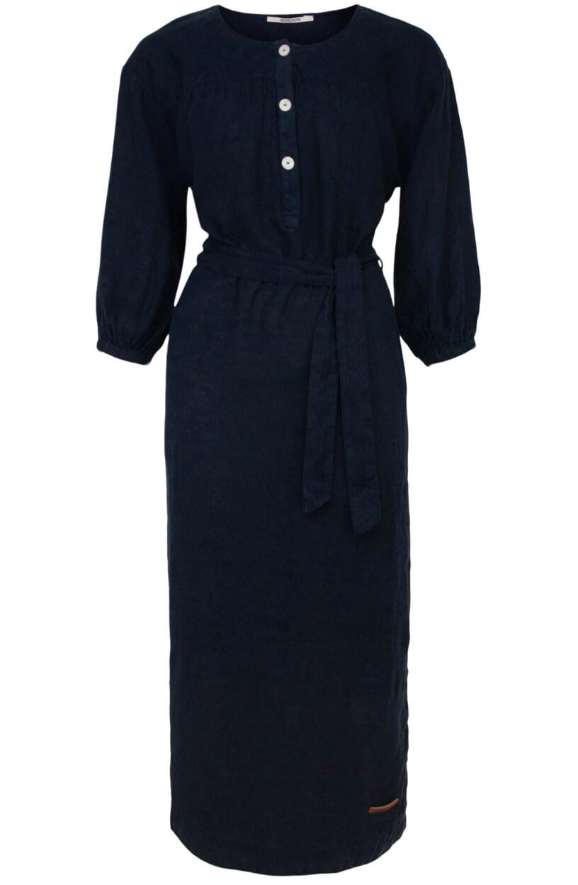 Moscow Dames Moonbeam jurk Blauw