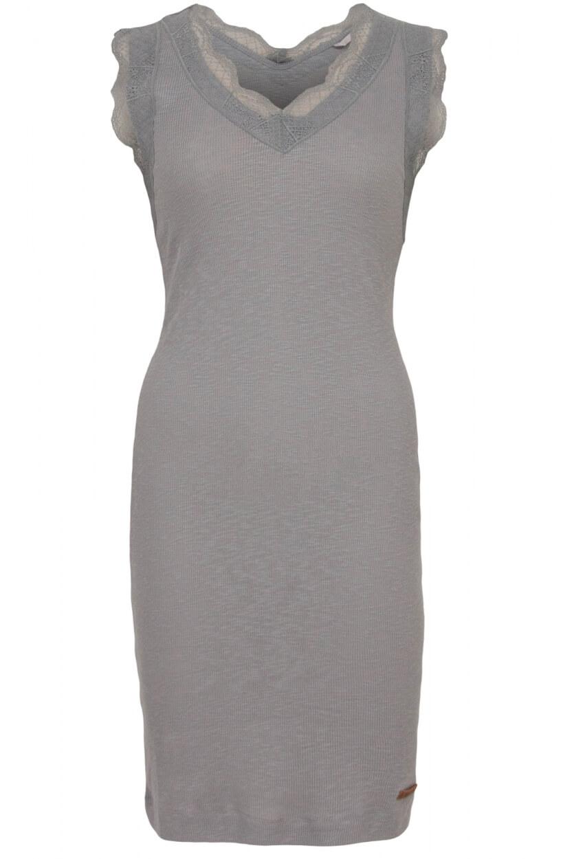 Moscow Dames Lace jurk Grijs