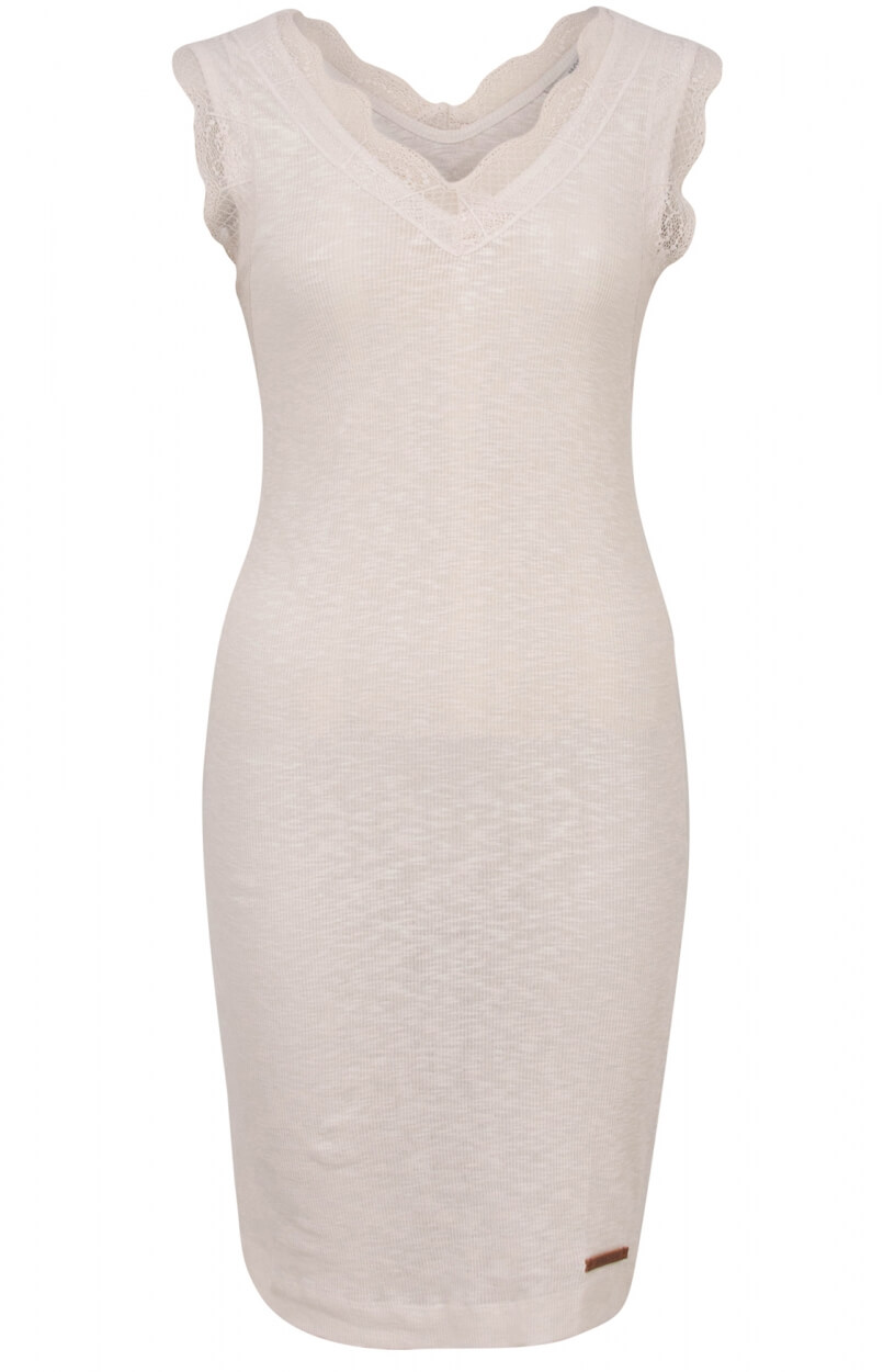 Moscow Dames Lace dress Wit