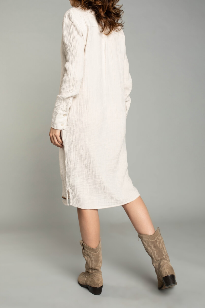Moscow Dames Beloved dress Wit