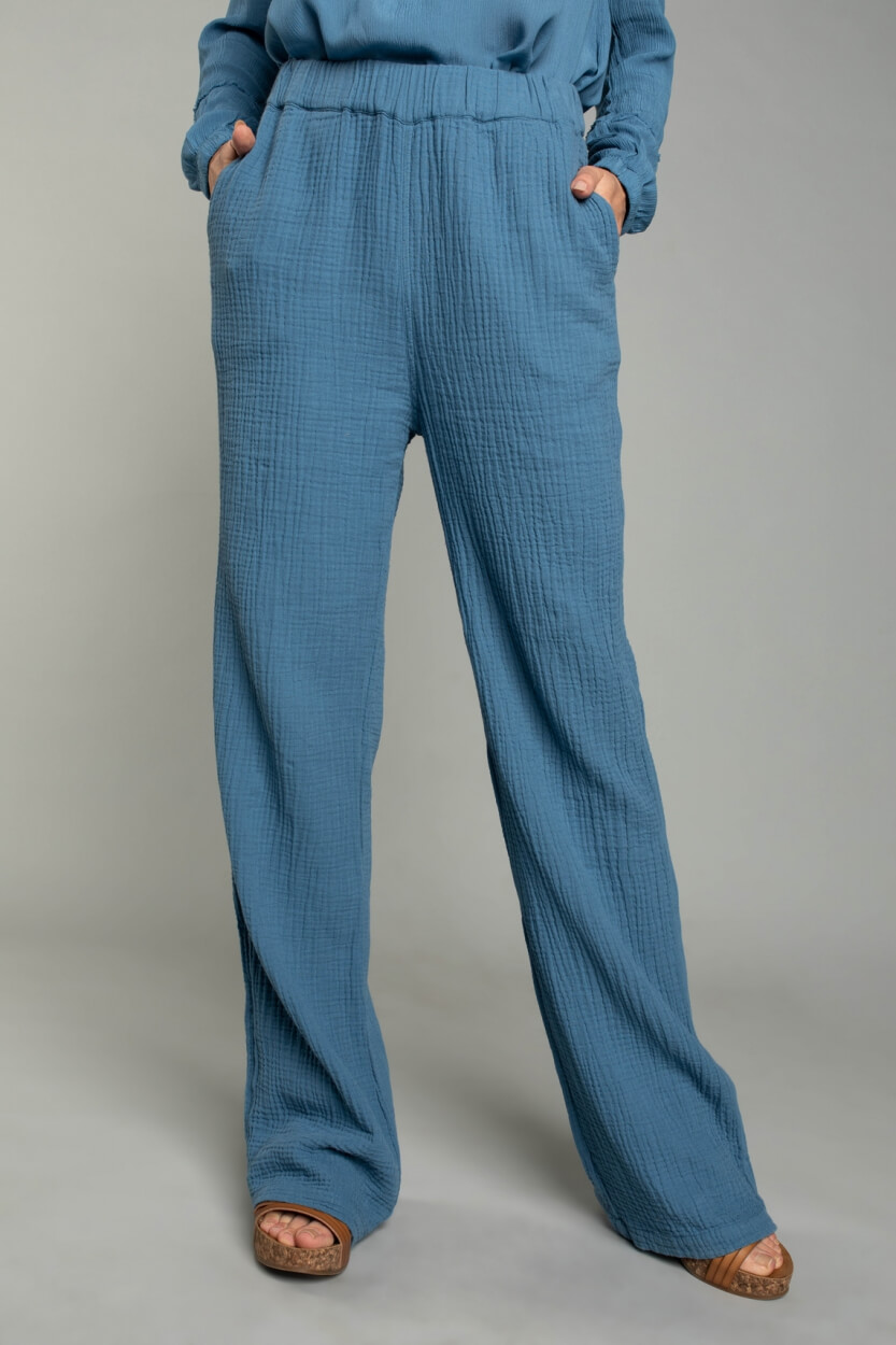 Moscow Dames People pants Blauw