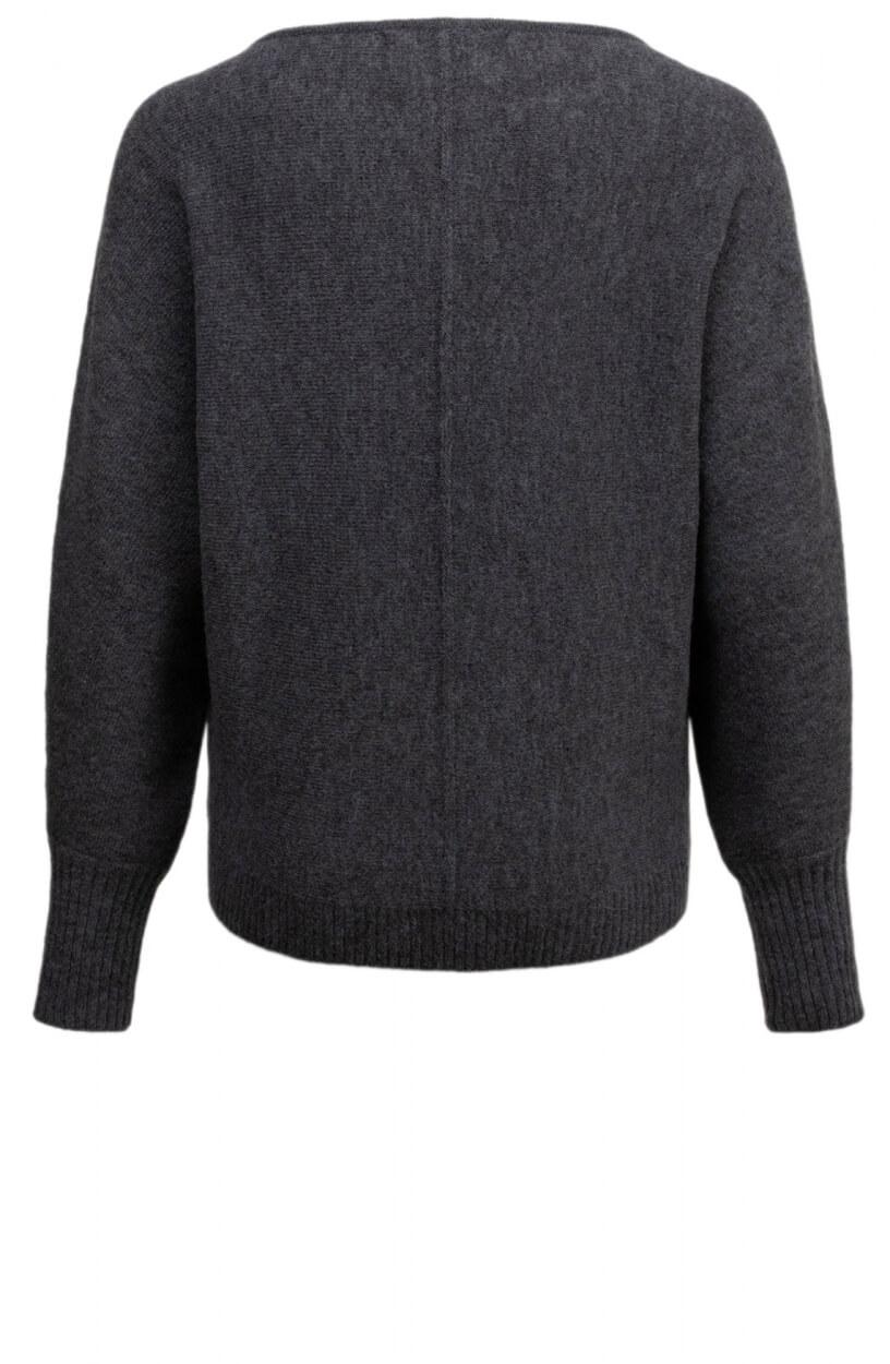 Moscow Dames Sweater Azalea Blauw