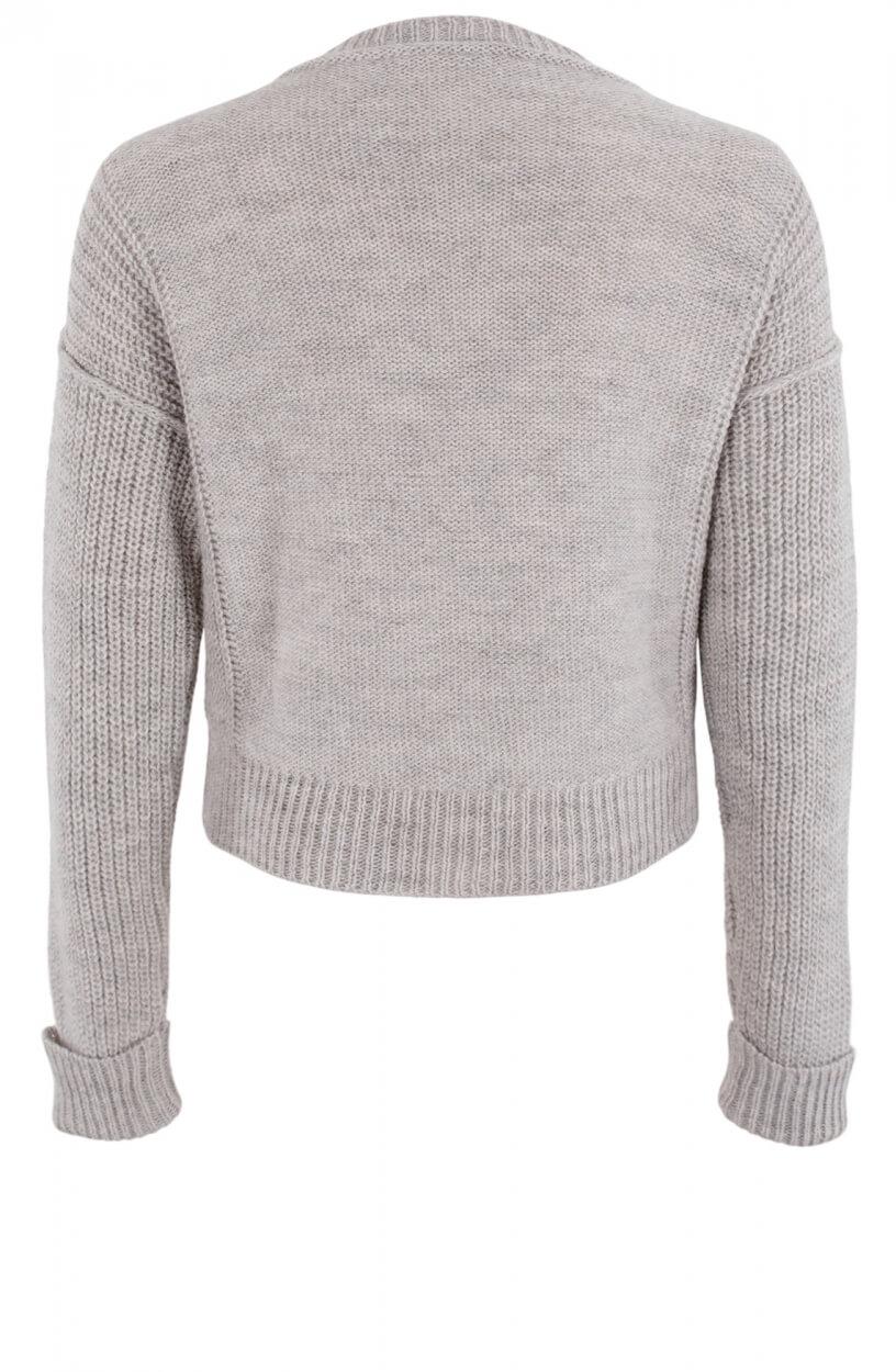 Moscow Dames Sweater Diana Grijs