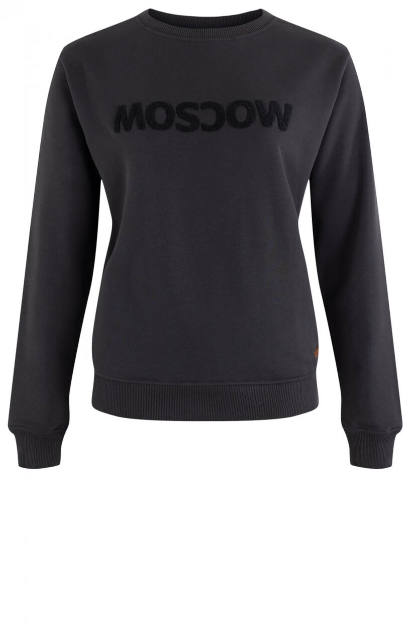 Moscow Dames Sweater Star Grijs