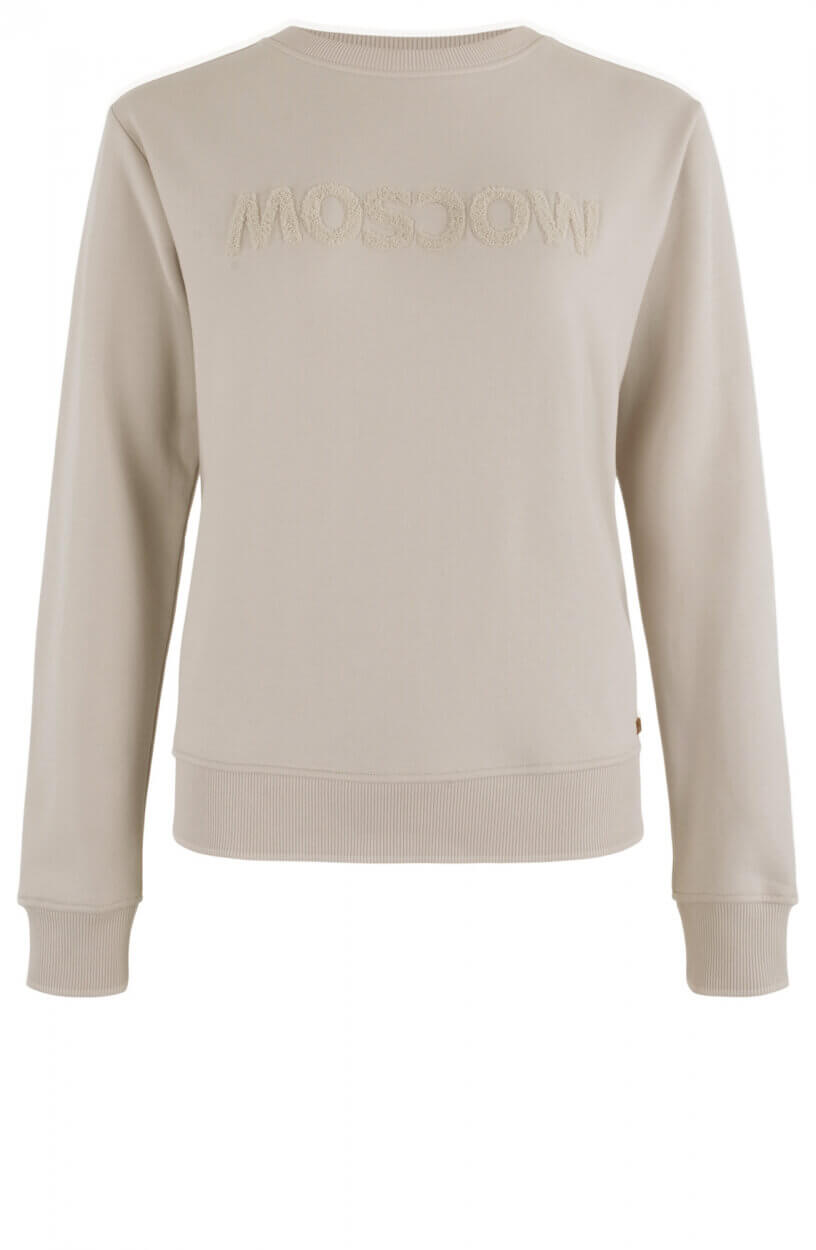 Moscow Dames Sweater Star Wit