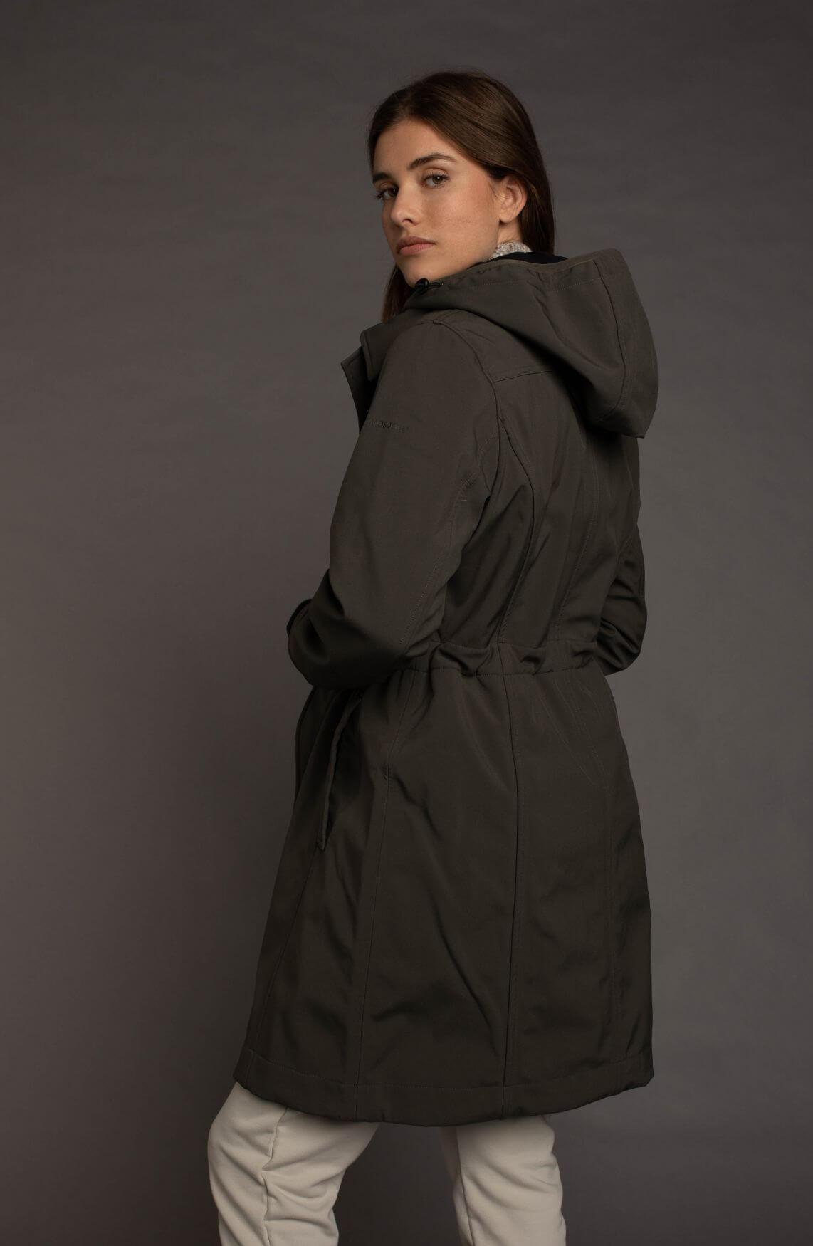 Moscow Dames Coat Arischa Groen